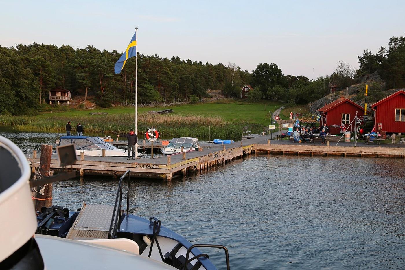 Trosa Kråmö Brygga